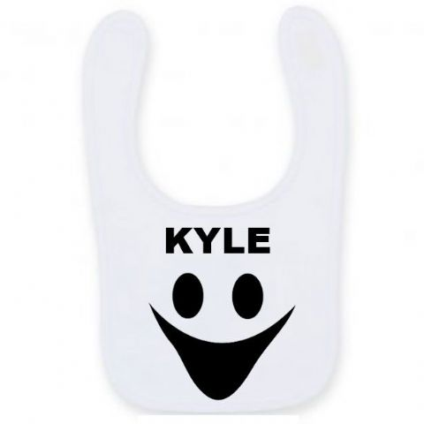 Personalised Halloween Ghost Bib